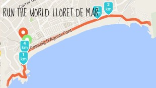 Run the world Lloret de mar