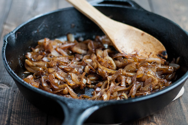 My best ever caramelized onions for mac and cheese