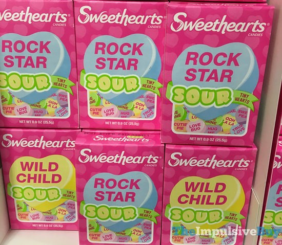 Sweethearts Sour Tiny Hearts