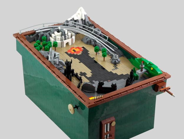 Functioning LEGO pinball machine bounces you from the Shire to ...