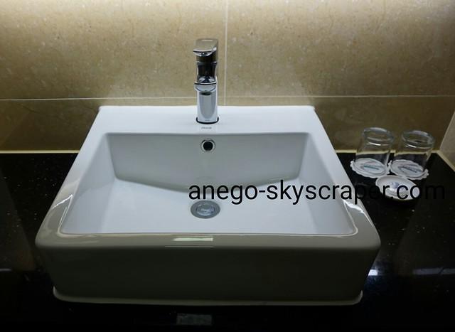 エアポートホテルの洗面所