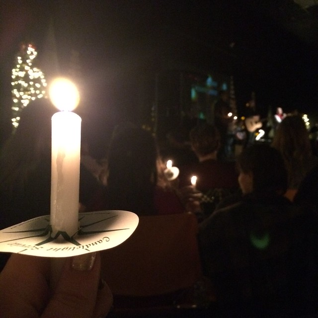 Candlelight Service at GVCC