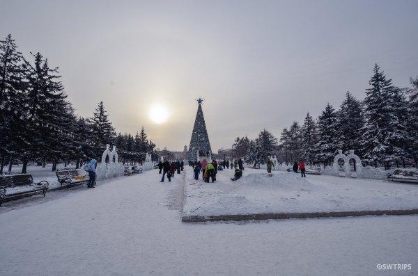 A Park in Irkutsk - Irkutsk, Russia