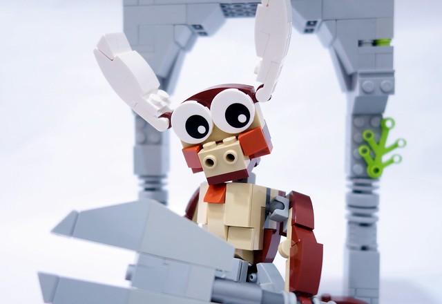 LEGO Minotaure chibi