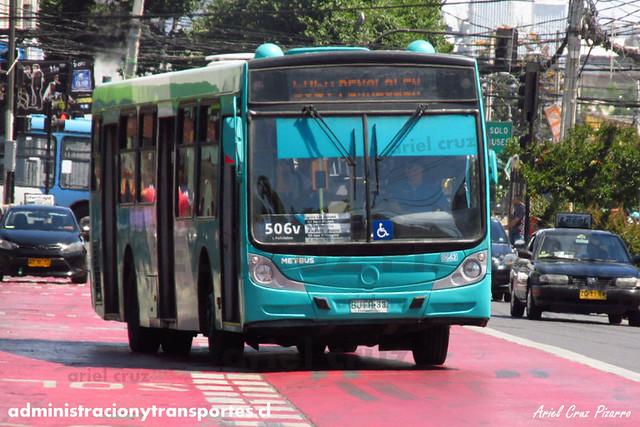 Transantiago (506v) - Metbus - Caio Mondego H / Mercedes Benz (BJFR33)