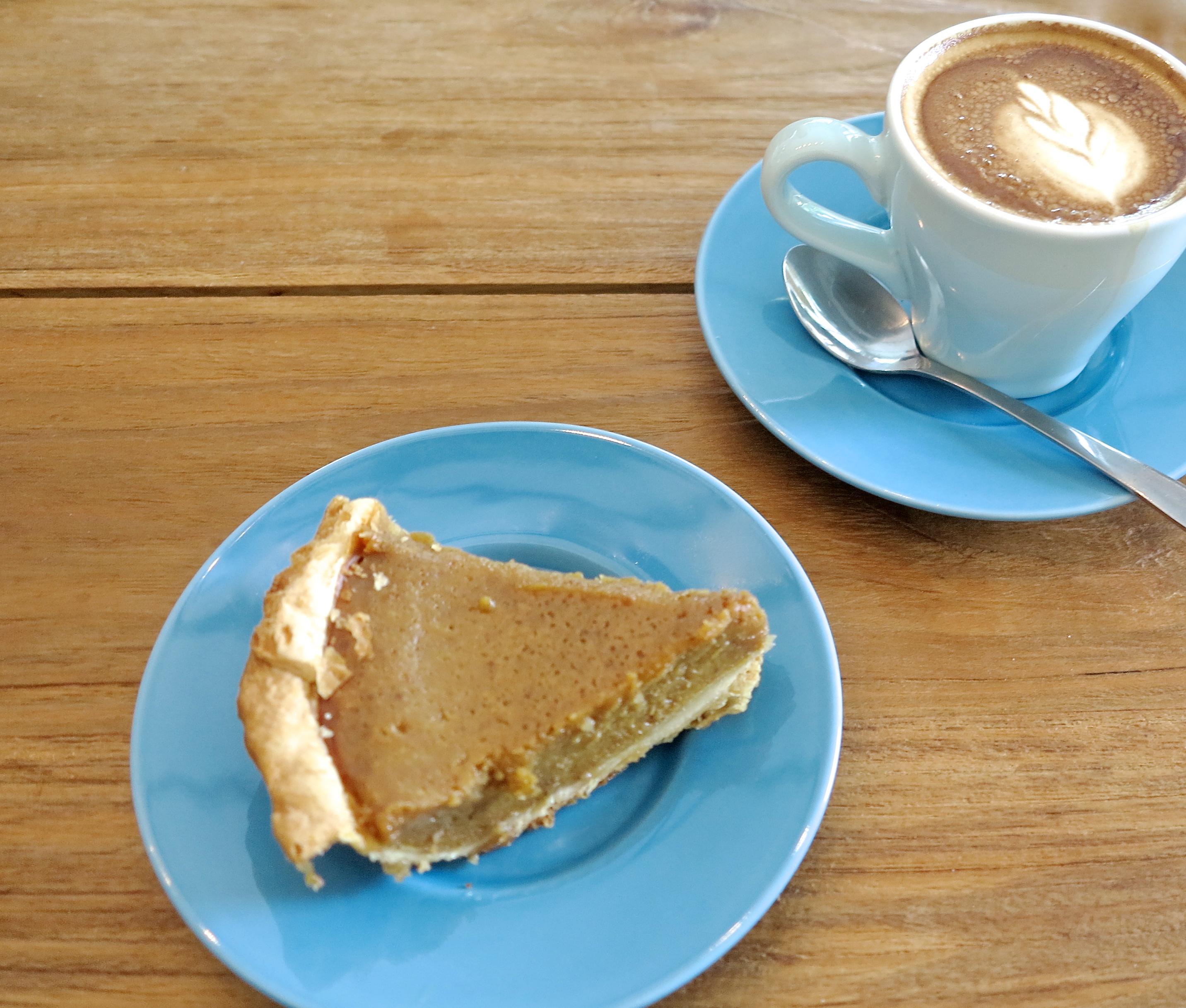 Pumpkin Pie + Flat White