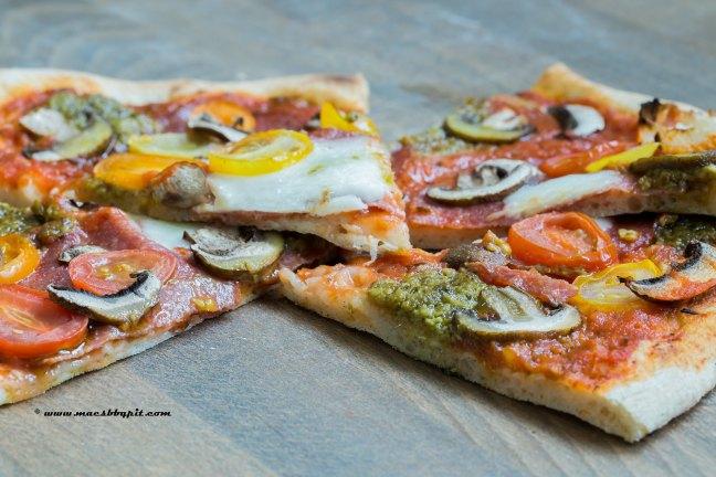 Pizza en pastasaus