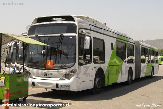 Transantiago - Subus Chile - Marcopolo Gran Viale / Volvo (BFKB36) (9564)