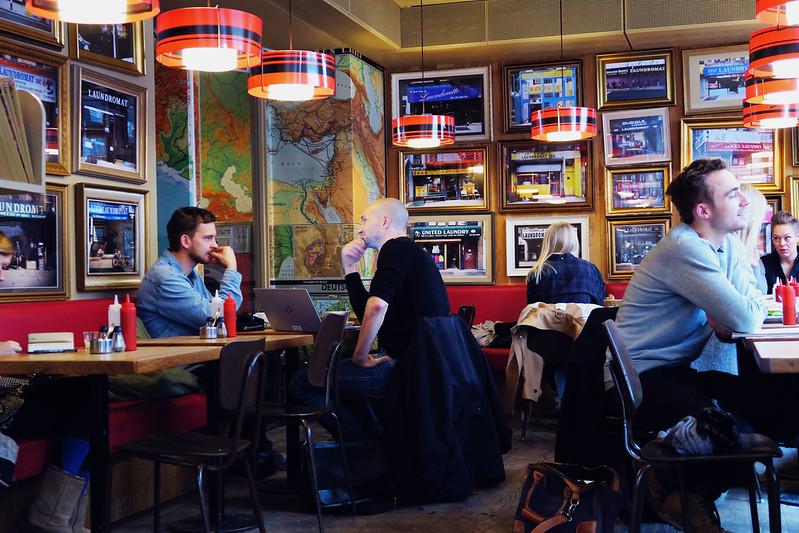 The Laundromat Café, Copenhagen