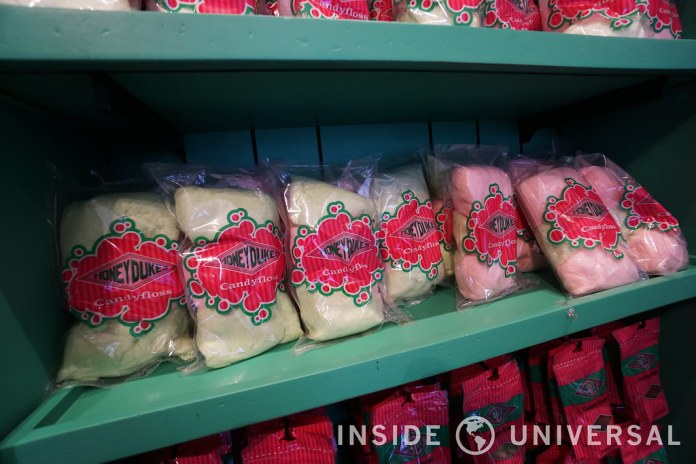 The Wizarding World of Harry Potter at Universal Studios Hollywood - Honeydukes
