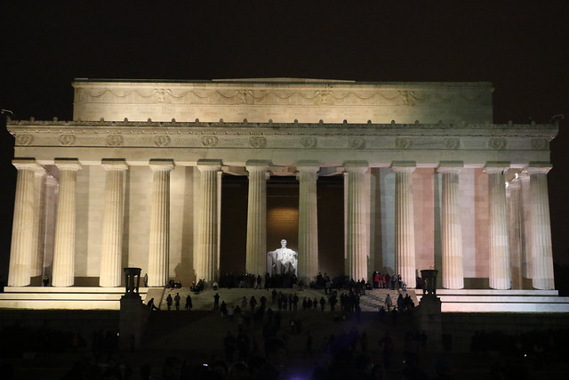 Abraham Lincoln - Lincoln Memorial 4