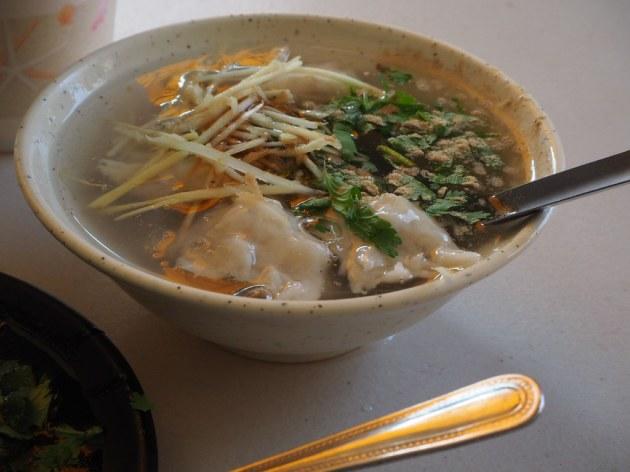 圓環頂菜粽肉粽の虱目魚羹