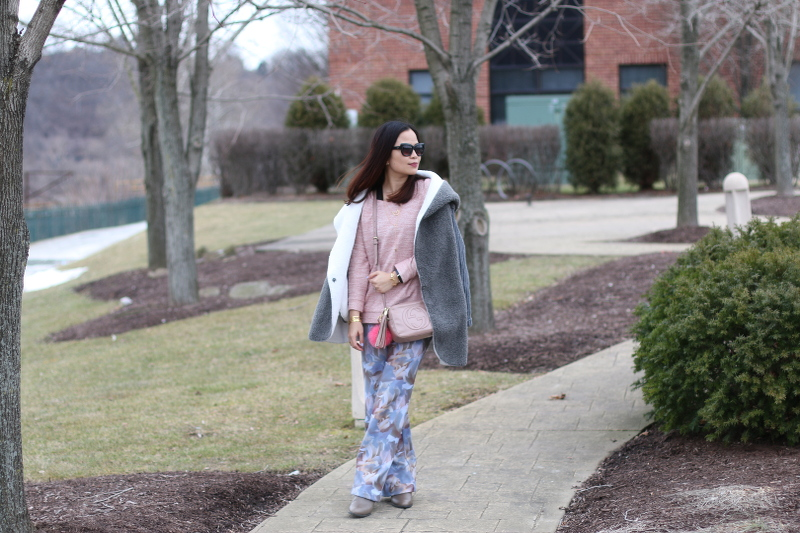 Pantone-Colors-rose-quartz-top-floral-wide-leg-pants-SheIn-coat-3