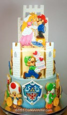 MarioBros Wedding Cake