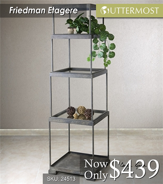 24513 Friedman Etagere $439