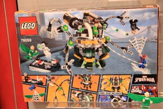 LEGO Marvel 76058 Doc Ock's Tentacle Trap 2
