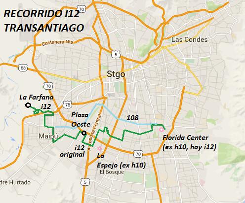I12 TRANSANTIAGO
