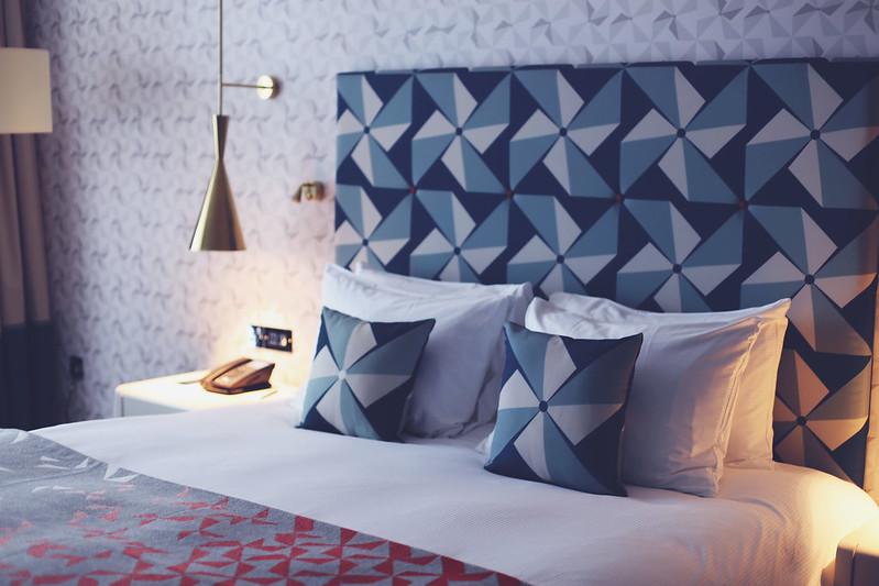 Bedroom, Hilton Hotel, Bournemouth