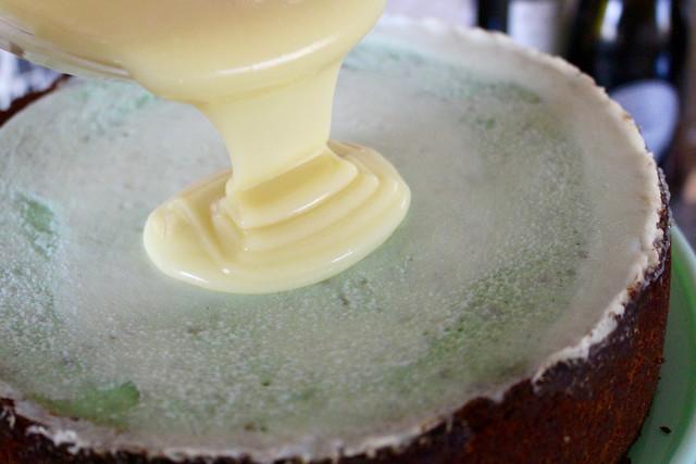 Pistachio White Choco Cheesecake - 28