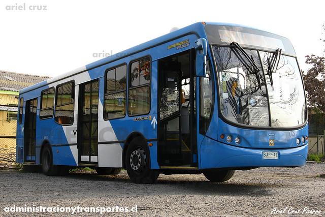 Transantiago - Unitran - Busscar Urbanuss Pluss / Mercedes Benz (BJFP42)