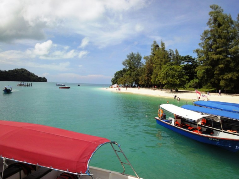 White Sand Beach near Langkawi