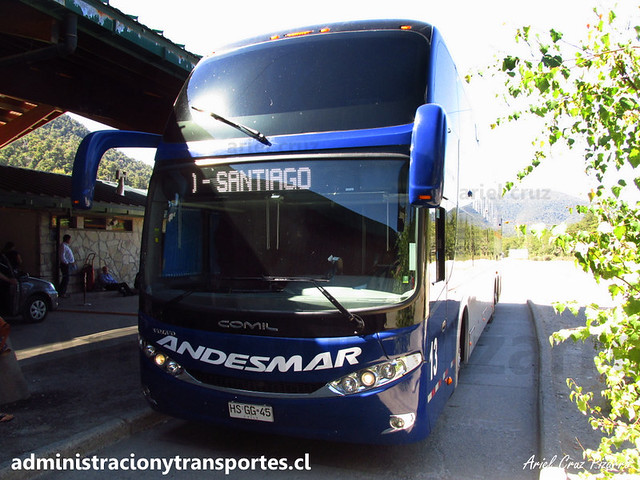 Andesmar Chile - Aduana Argentina - Comil Campione DD / Volvo (HSGG45) (13)