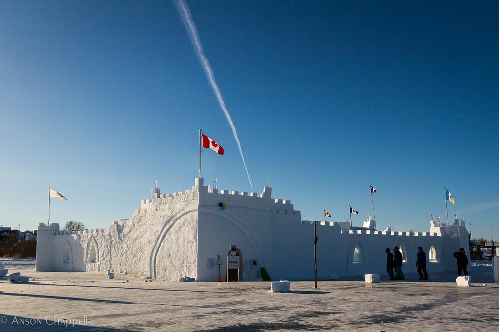 Snow King's castle