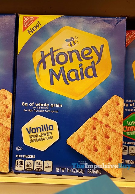 Honey Maid Vanilla Graham Crackers