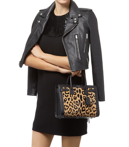 Saint Laurent Sac de Jour Animal Print