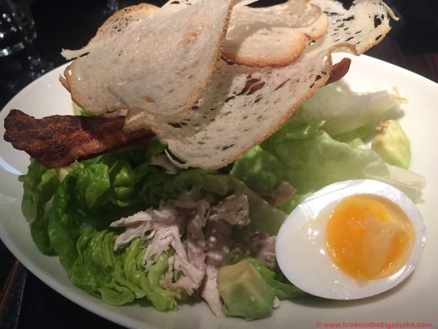 Chicken Caesar Salad Botanist Broadgate Circle