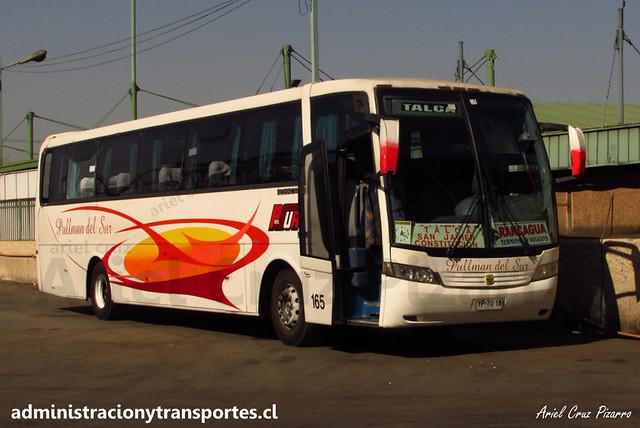 Pullman del Sur - Santiago - Busscar Vissta Buss LO / Mercedes Benz (YP7018)