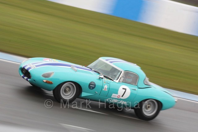 Jaguar Classic Challenge at the Donington Historic Festival 2016