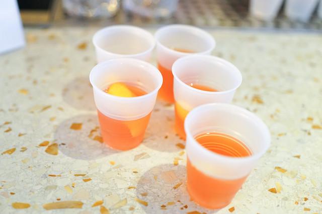 Sazerac russell's reserve rye whiskey, pernod absinthe, peychaud's bitters, lemon peel