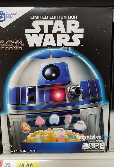 Star Wars Cereal Limited Edition Boxes with R2-D2