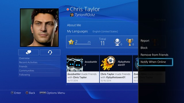 PlayStation 4 System Software 3.50 Update Detailed 2