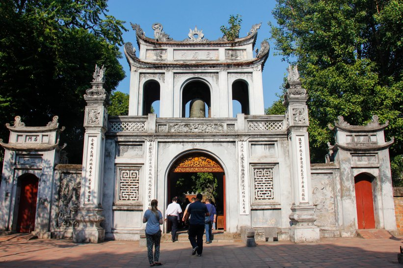 Temple of litterature, Hanoi's største seværdighed