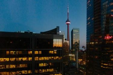 CN Tower at Dusk