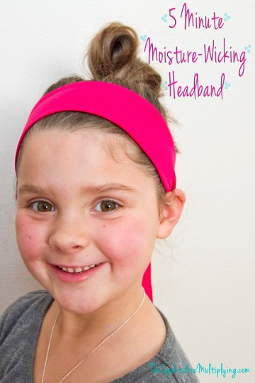 5-Minute Moisture-Wicking Headband