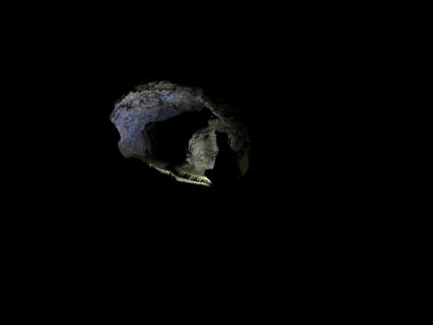 Interior Cueva del Viento