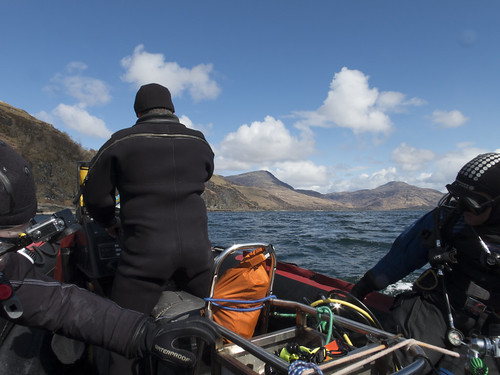 Getting ready to dive the Meldon