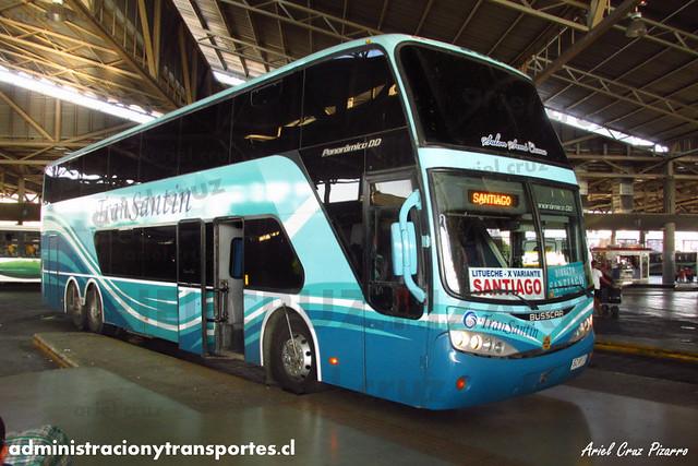 Transantin - Terminal San Borja (Santiago) - Busscar Panorâmico DD / Volvo (BZXP79)