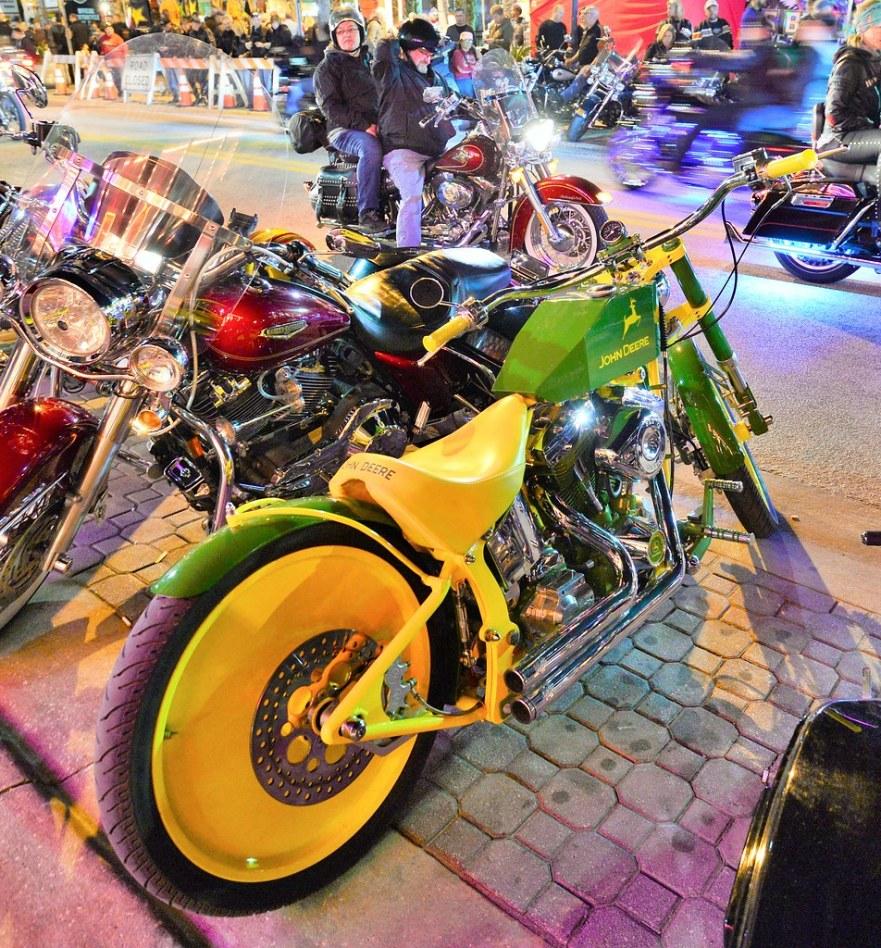 John Deere theme bike