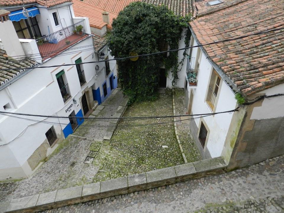 Barrio de San Antonio Antigua Juderia Caceres 05