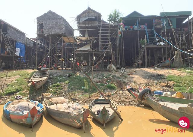 A ride along the Mekong River to Kompong Pluk