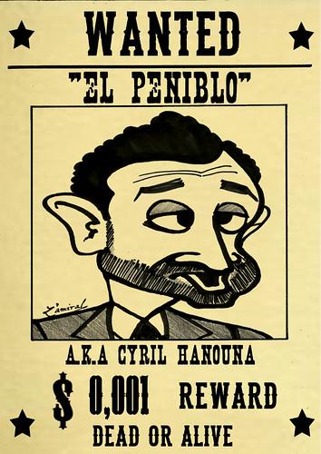 Wanted Cyril Hanouna