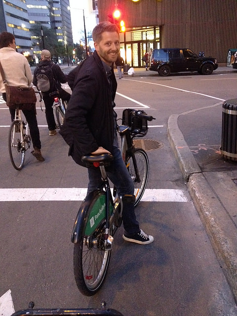 Tom on bixi