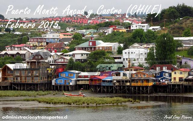 Viaje Puerto Montt / Ancud / Castro (Chile)