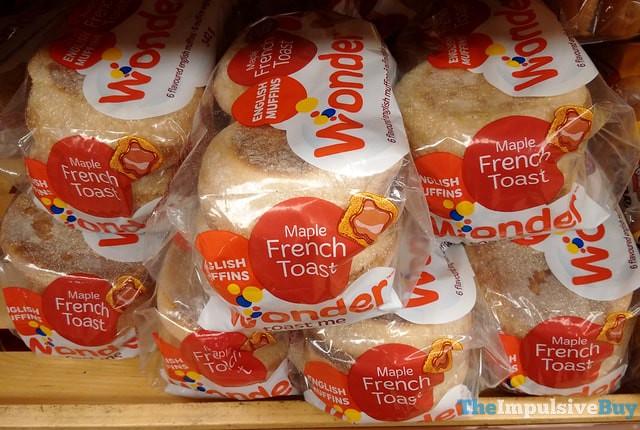 Wonder Maple French Toast English Muffins