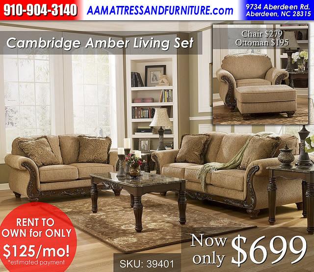 Cambridge Amber RWB