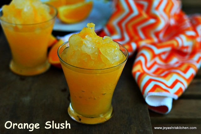 orange slush recipe